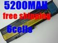5200mAh Battery For LENOVO ThinkPad X200 X200S X201 X201i X201S 42T4834 42T4835 43R9254 42T4537 42T4541 42T4536 42T4538