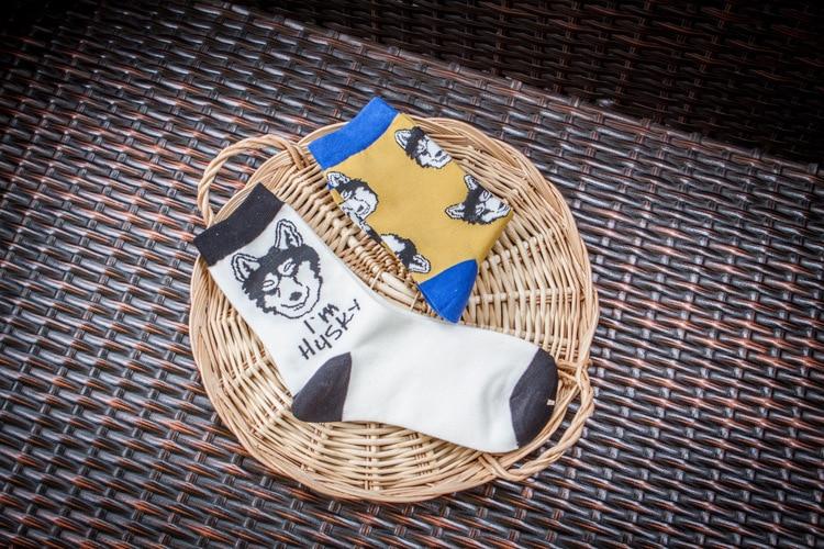 Quality New Creative Men Women Zoo Cotton Socks Animals Fox Dog Female Cartoon Unisex Lovely Women Socks Drop Shipping 1 Pair 5