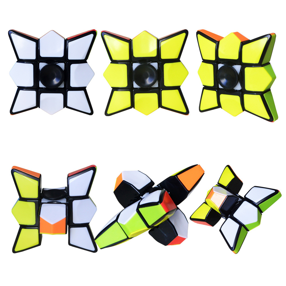 New Style Crazy Hot Finger Spinner Magic Cube Speed Puzzle Cubes Learning Toys Brinquedo For 2019 Children Day GiftNew Style Crazy Hot Finger Spinner Magic Cube Speed Puzzle Cubes Learning Toys Brinquedo For 2019 Children Day Gift