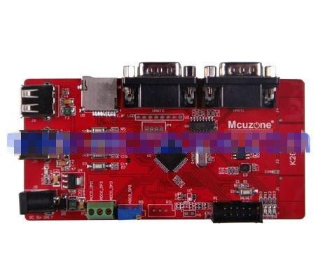 Livraison Gratuite! K20 carte de développement 50 MHz Cortex-M4, USB OTG, TF carte série tactile MK20DN64VLH5