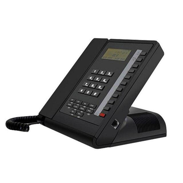 Новая Мода Простой Многофункциональный Планшетный Телефон Американский Стиль Телефон для Отель Бизнес-Офис Home Call ID Черный