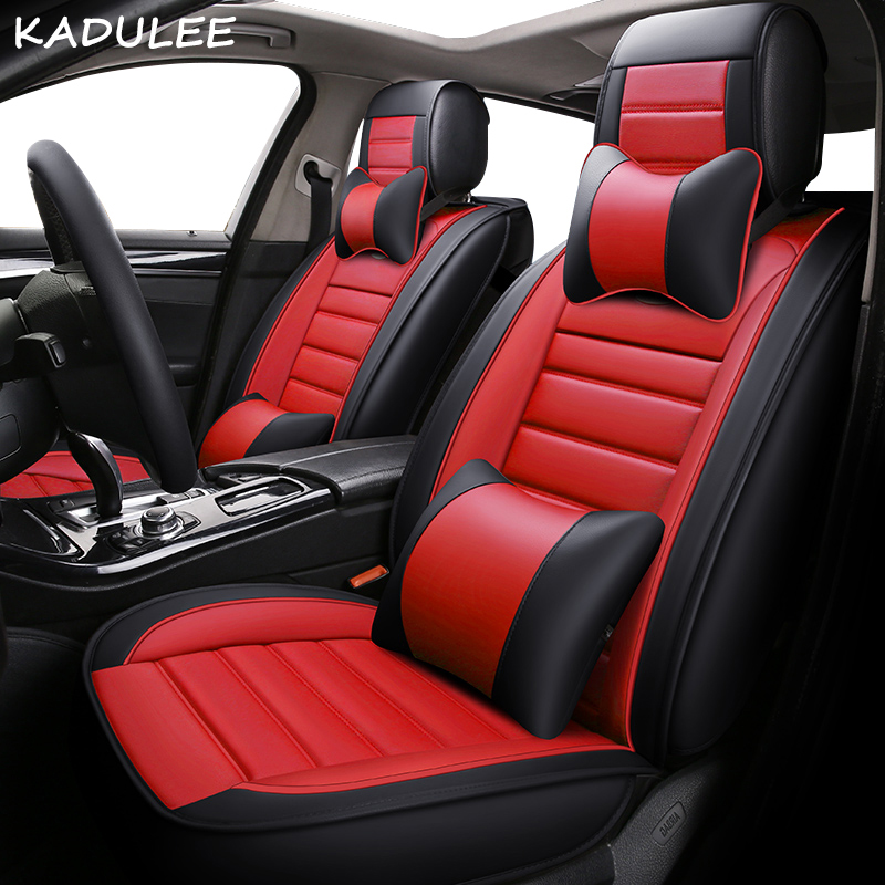 KADULEE pu leather car seat cover For Mini One Cooper R50 R52 R53 R55 R56 R60