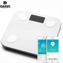 SDARISB средства ухода за кожей жира весы пол научный Смарт светодио дный электронные светодиодный цифровой Вес Ванная комната баланс Bluetooth APP Android или IOS