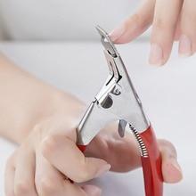5 ''художественный резак для кромок гель УФ акриловые накладные ногти Клипер Триммер для маникюра кончиков ногтей ножницы с инструментами педикюр искусственный
