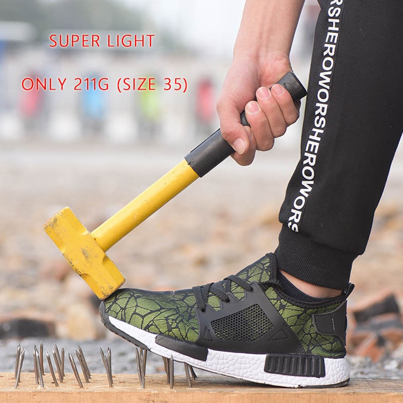 2019 Newest Superlight Men Shoes Safety Boots Outdoor Work