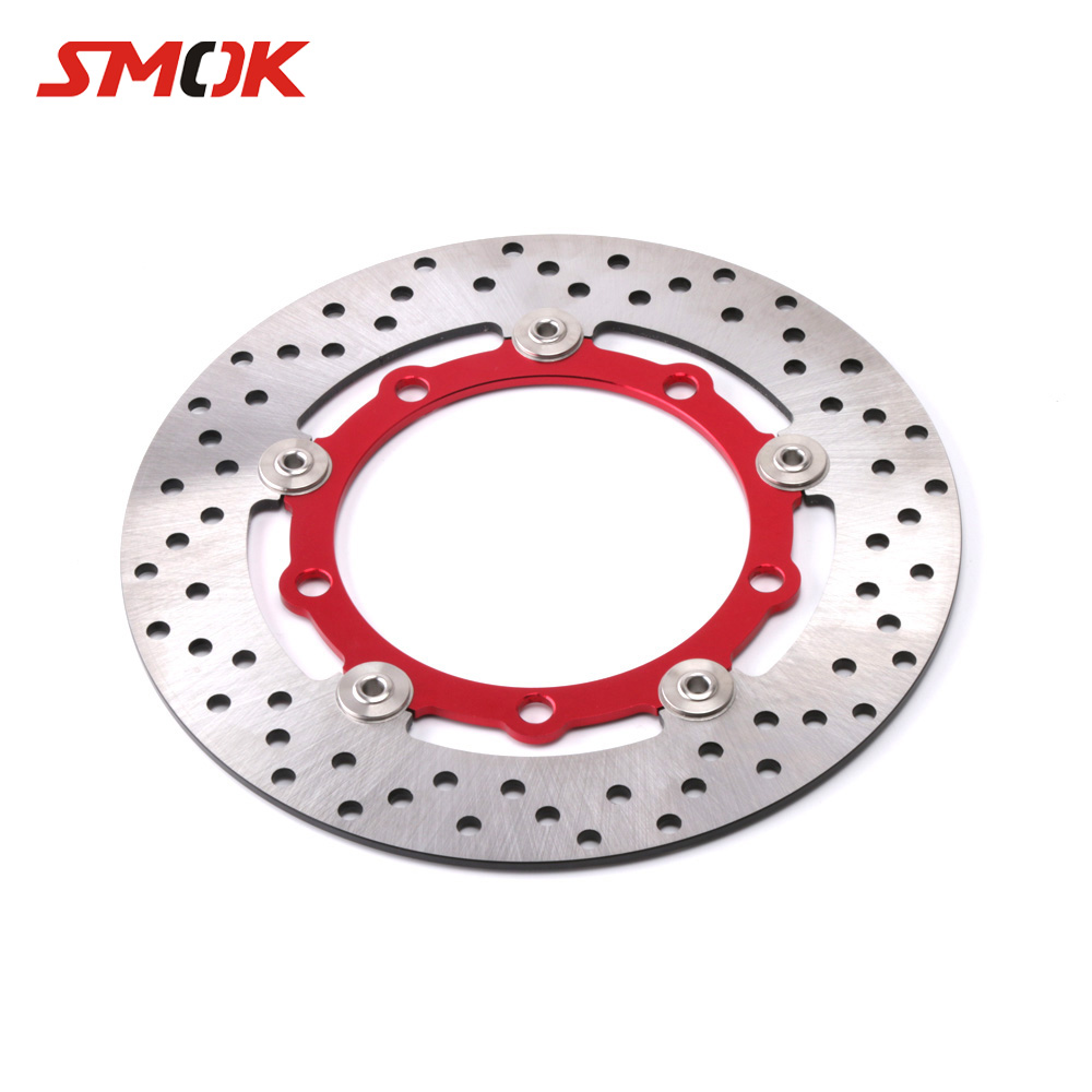 SMOK Motorcycle CNC Aluminum Alloy 267mm Floating Front Brake Disc Rotor Caliper For Yamaha Xmax X-MAX 300 2017 2018SMOK Motorcycle CNC Aluminum Alloy 267mm Floating Front Brake Disc Rotor Caliper For Yamaha Xmax X-MAX 300 2017 2018