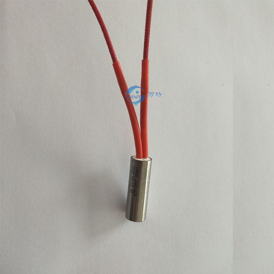 12*35mm długość grzałki AC220V 100 W wkład elektryczny do maszyny kodującej elektrycznej rury grzewczej ss304 rury ze stali nierdzewnej maszyna do stemplowania