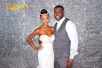 Customize-10ftx8ft Silver Sequin Backdrop ship by DHL
