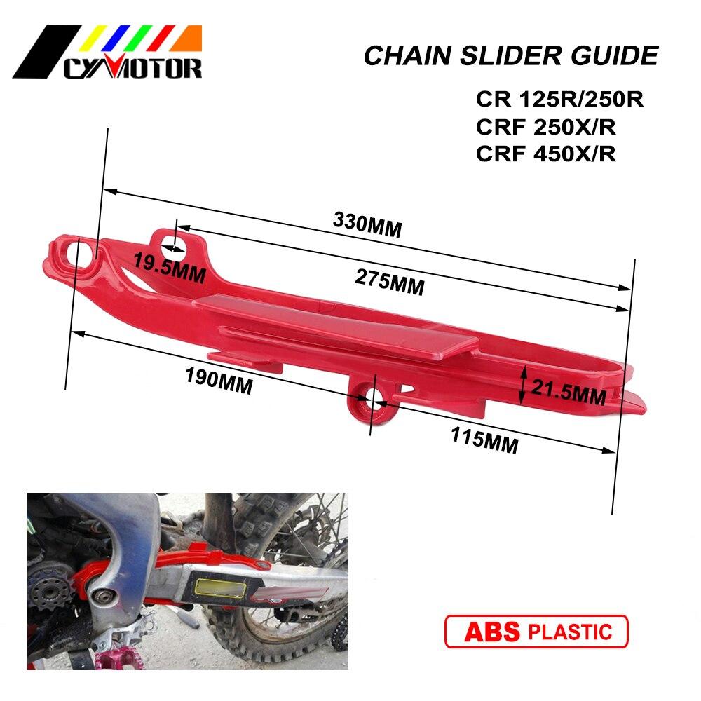 Moto Guide Chaîne Colle Curseur Pour HONDA CR125R CR250R CRF250R CRF250X CR 125R 250R 250R CRF 250X00 01 02 03 04 05 06 07-13
