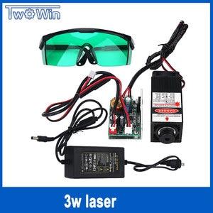 high power 3000mw laser 3w 445