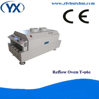 Christmas Rush T961 Best Price PCB Reflow Soldering Oven Machine For IC Heater Wave PCB Stencil
