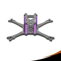 Full Carbon Fiber Bolt X120mm Frame Kit Wheelbase 120mm FPV Racing Frame Rack DIY Set Adapt 2540 Props F3/F4 FC 1104/1106 Motor