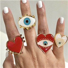 AOMU-Lovely-Exaggerated-Eyes-Heart-Rings-For-Women-Jewelry-Fashion-Statement-Rings-Opening-Adjustable-Party-Accessories