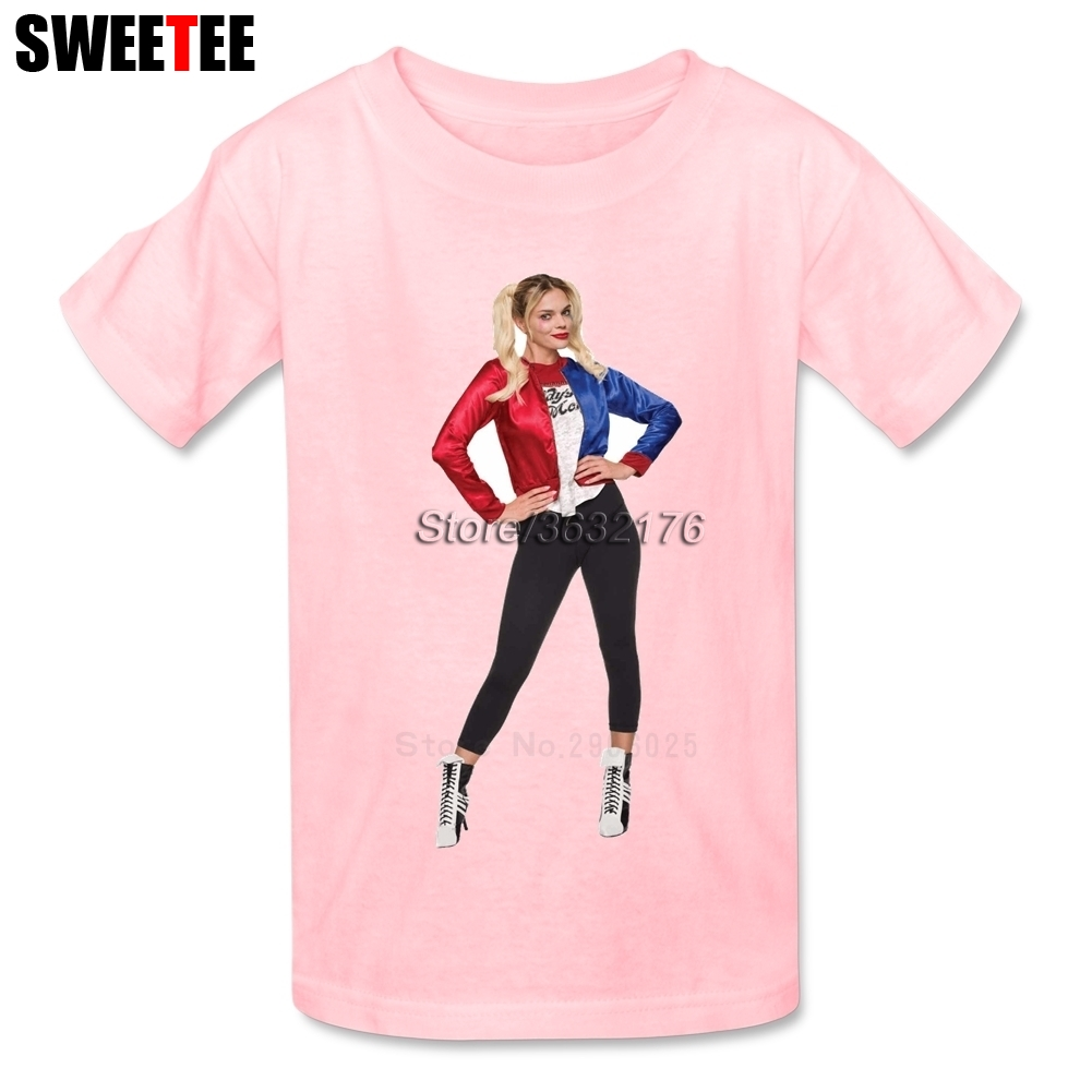 Suicide Squad T Shirt Kid Cotton Toddler O Neck Baby 2018 Harley Tshirt childrens Infant Garment Quinn T-shirt For Boy Girl