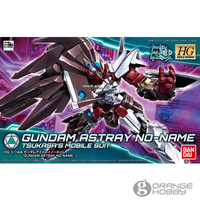 OHS Bandai HG Build Divers 012 1/144 Gundam Astray No Name Mobile Suit Assembly Model Kits