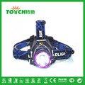 Waterproof 2000 Lumen Cree XML T6 LED Headlamps Rechargeable 2*18650 High Power Headlights Lamp Torche Linternas senderismo 7023