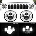 2 шт. 40 Вт 6000 К автомобильные аксессуары круглые светодиодные фары для Jeep Wrangler Land Rover Defender Lada 4x4 Urban Niva Ford Keenworth