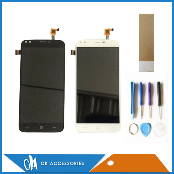 Black White Color For Doogee X30 LCD Display+Touch Screen Digitizer Assembly Replacement With Tools Tape 1PC/Lot