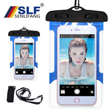 Get more info on the Swimming waterproof Storage package Outdoor Sea vacation Universal Waterproof Case Mobile Phone Bags with Strap Dry Pouch