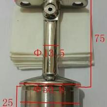 Литые детали для подлокотников основание и топ 304# щетка из нержавеющей стали(сатин) отделка диаметр 50,88 мм