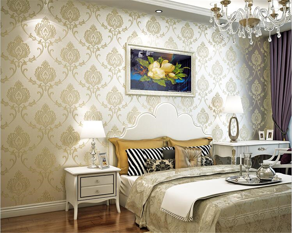 study background wall bedroom living fabric wallpapers nonwoven parede papel beibehang television improvement