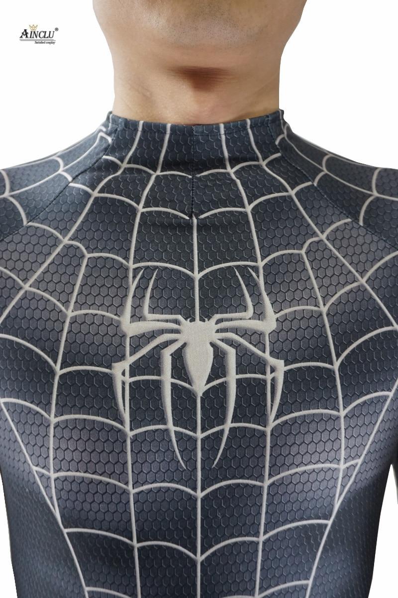 Ainclu Lycra Black Cosplay Kostum Untuk Halloween Anime The Amazing Fantasia T Shirt Pria Castlevania Death Spider Man Zentai Orang Dewasa Di Dari Novelty Khusus Penggunaan