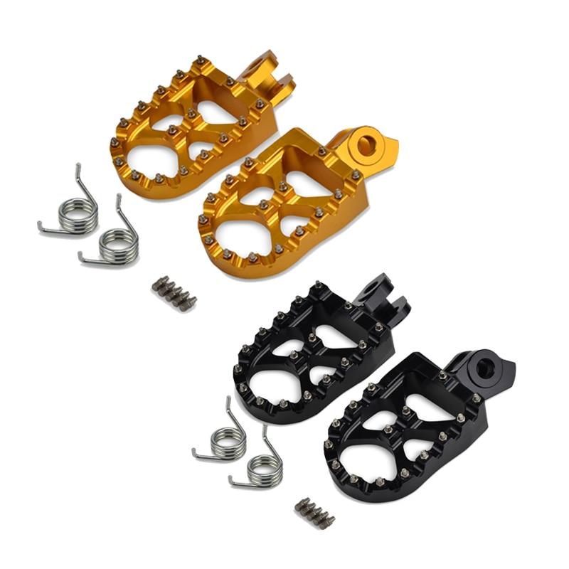 Foot Rest Footrest foot pegs for Suzuki RMZ250 RMZ 250 2010 2011 2012 2013 2014 2015 2016 2017 2018 RMZ450 2008 2018 RMX450Z