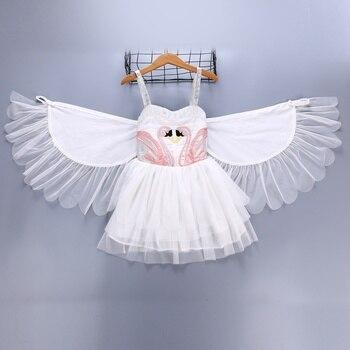 ff46a21cdf8 Product Offer. Платье для девочек Robe Fille для маленьких Лебедь платья ...
