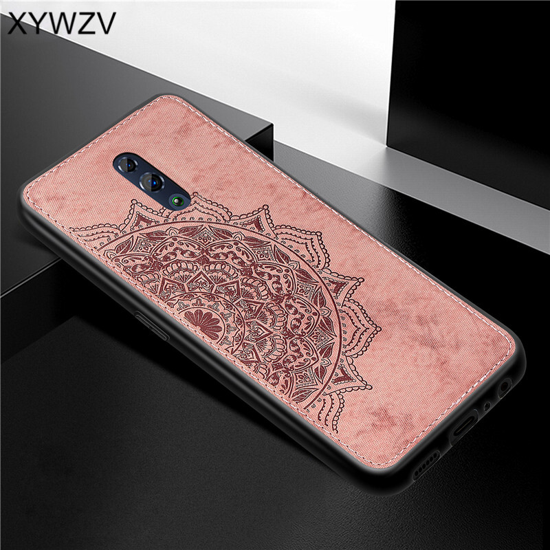 Image 3 - For OPPO RenO Case Shockproof Cover Soft Rubber Silicone Luxury Cloth Texture Phone Case For OPPO RENO Back Cover For Oppo Reno-in Fitted Cases from Cellphones & Telecommunications