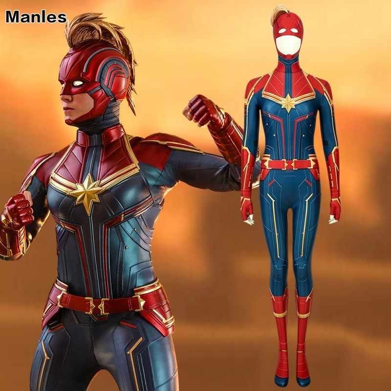 Avengers 4 Endgame Captain Marvel Cosplay Ms  Marvel Carol