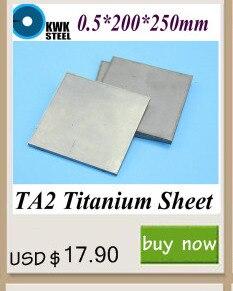 0.8*300*350mm Folha de Titânio TA2 Gr1 Titânio