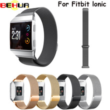 New Arrival for Fitbit Ionic Band,Magnetic Milanese Loop Stainless Steel Band Replacement Accessories bands
