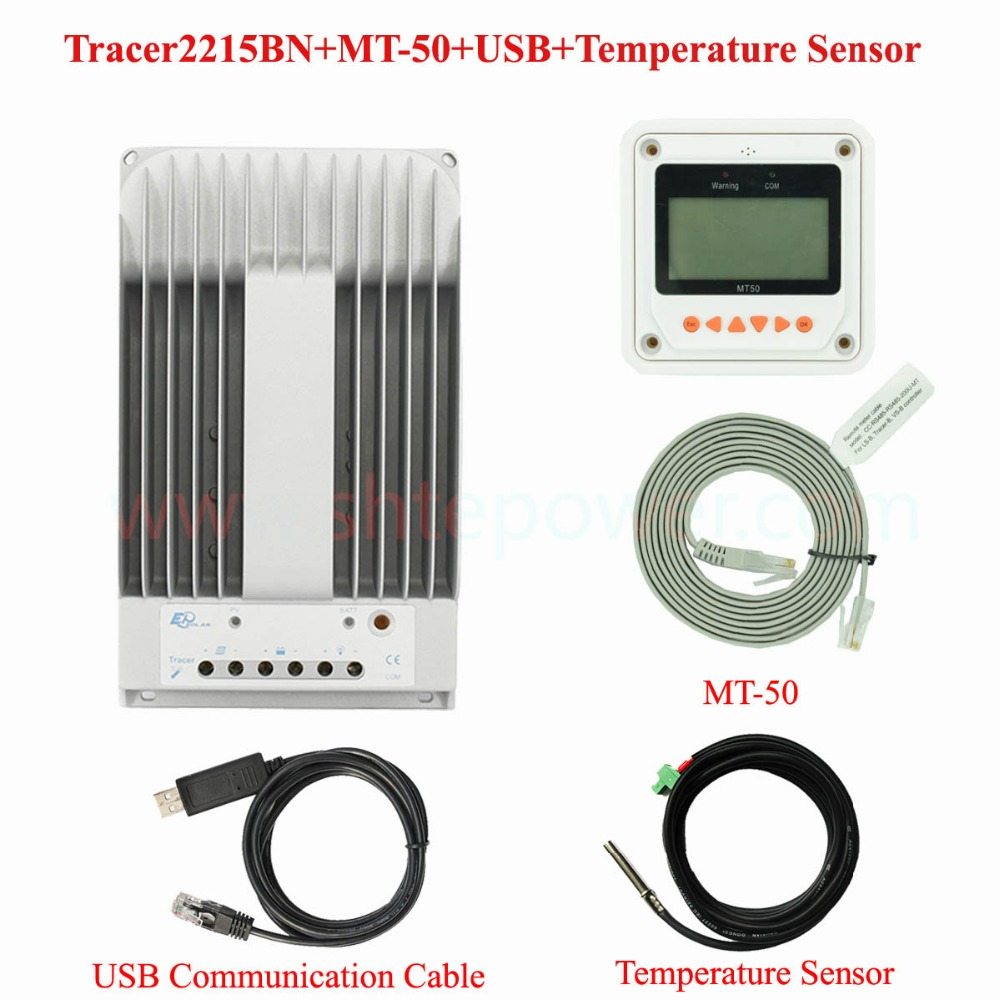 Tracer2215BN 20A New Tracer MPPT Solar Controller with MT50 LCD display Remote meter adjustable connect computer remote controlTracer2215BN 20A New Tracer MPPT Solar Controller with MT50 LCD display Remote meter adjustable connect computer remote control