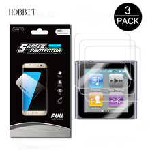3Pack For Apple iPod Nano 6 6th Generation Anti-shock 7H Nano Explosion-Proof MP3 Player Screen Protector Anti-Scratch Film