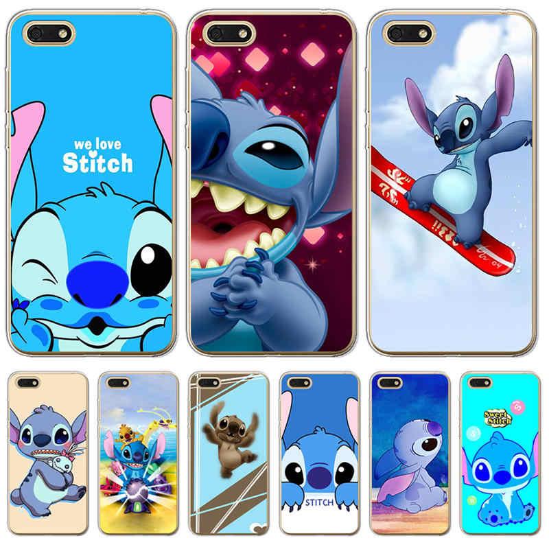 Stitch phone Case Cover For Coque Huawei P8 P9 P10 P20 Smart Lite ...