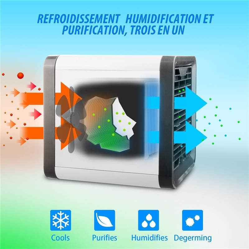 Authenti Artic Air Cooler Air Cooler Arctic Quick & Easy Way to Cool Any Space Air Conditioner Air Purifier Portable