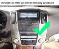 Wince6.0system 800 Mhz COCHES REPRODUCTOR de DVD BLUETOOTH RADIO de NAVEGACIÓN GPS PARA lexus rx300, rx330, rx350, rx400h toyota Harrier