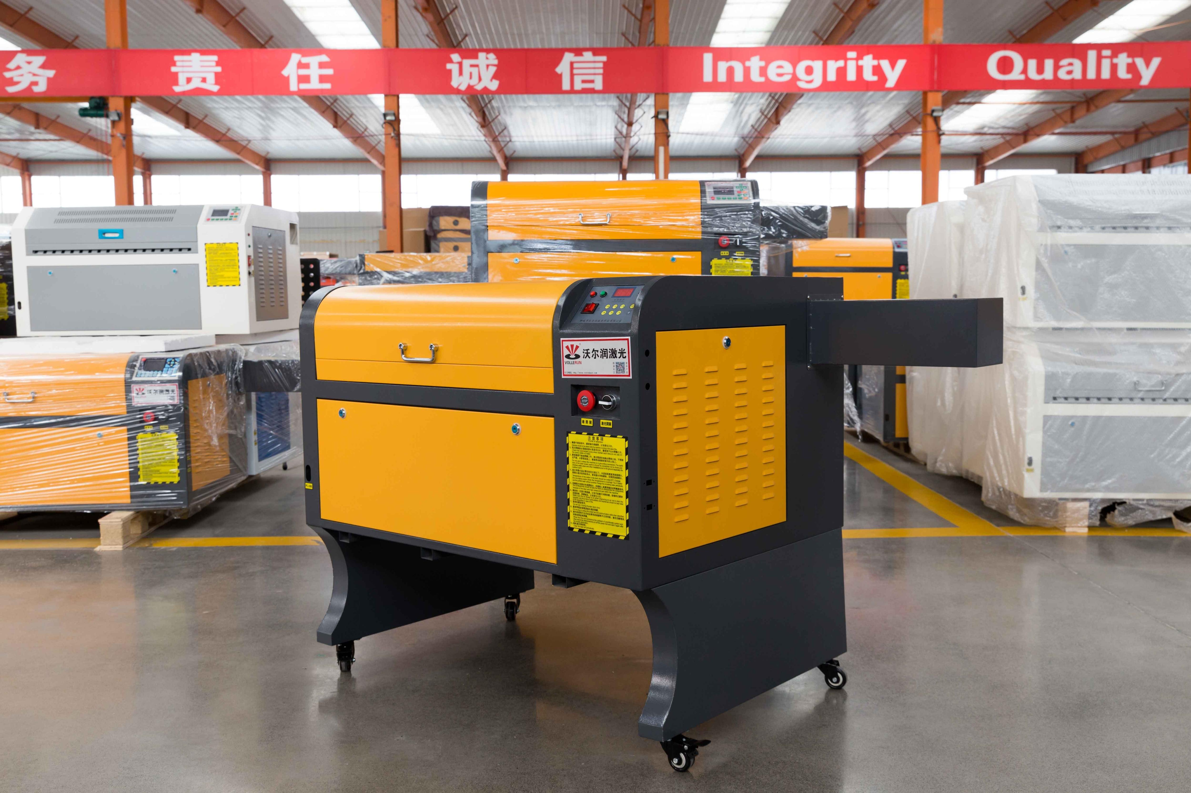 VOIERN 50W-M2 WR4060 co2 laser machine de gravure 220 v/110 v laser machine de découpe bricolage CNC gravure découpeuse