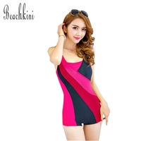 High Cut Swimwear Vintage Classic Sports One Piece Swimsuit Sexy Monokini Brand Slimming Bathing Suit