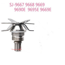1 piece Blenders Blades Stainless Knife for SJ-9669 J-9667 9668 9669 9690E 9695E 9699E S30A Blade Mixer Spare Parts