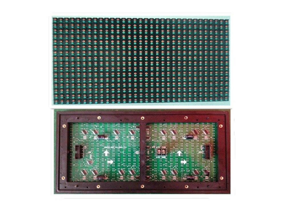 0e9bf8092 P10 doble del color al aire libre 4 Scan (1R1G) 320mm * 160mm 32*16 píxeles  10000 puntos/m2