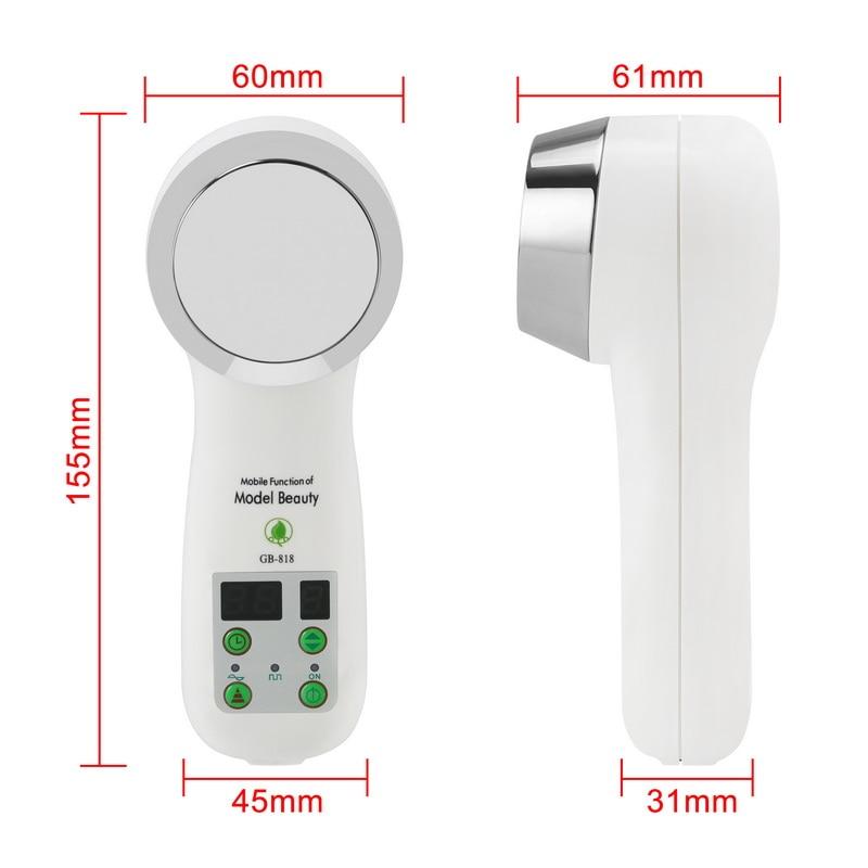 CE/FDA 1MHz Ultrasonic Slimming Massager, Cavitation Ultrasound Therapy Fat Burning Massager Facial Skin Rejuvenating Device