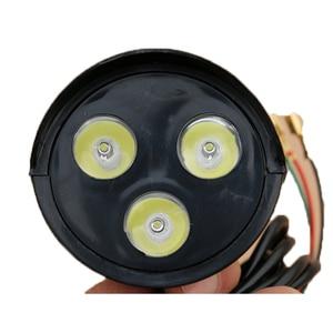 36В/48В Электрический велосипед трехколесный велосипед электровелосипед электрический скутер скейтборд светодиодный свет электровелосипед передний свет 0 фара включает в себя Рог