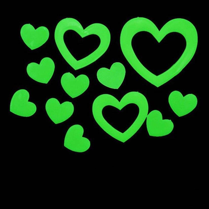 ⑥Fantástico forma de corazón que brilla intensamente en la ...