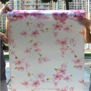 Image 5 - רחב 45cm * ארוך 100cm אטום חלבית זכוכית חלון סרט חלון פרטיות דבק זכוכית מדבקות בית תפאורה מעורב צבע שינה
