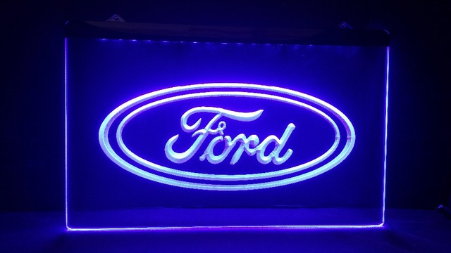 Superior Tr02 Ford Car Beer Bar Pub Club 3d Signs LED Neon Light Sign MAN CAVE Design Inspirations