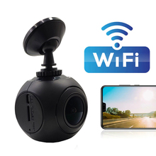 купить Ainina WiFi Car Dvr Camera Recorder Novatek 96658 night vision WiFi Car dash cam , FHD1080P WiFi car video registrator по цене 2344.07 рублей