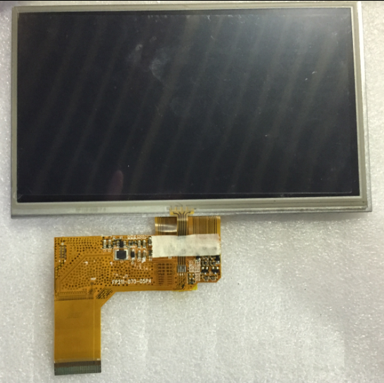 где купить free shipping original 7 inch LCD screen original cable number: FP211-070-05P4 дешево