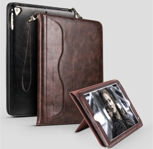 Image 4 - For ipad 8 2020 Luxury Leather case For ipad 7 10.2 inch Folio Stand Smart Cover Auto Wake Sleep bag A2197 A2270 Storage