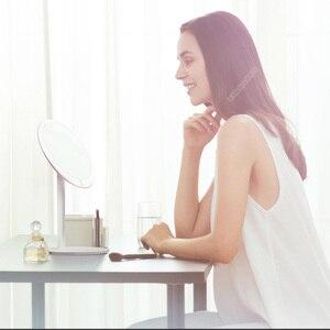 Image 3 - Amiro hd espelho regulável bancada ajustável 60 graus de rotação 2000 mah luz do dia maquiagem cosméticos led espelho lâmpada
